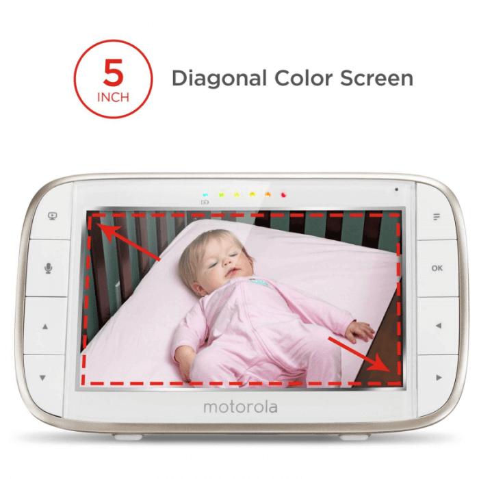 Motorola MBP855 Wi-Fi Connect Video Baby Monitor Display