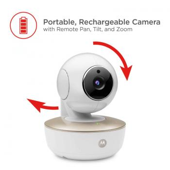 Motorola MBP855 Wi-Fi Connect Video Baby Monitor Camera