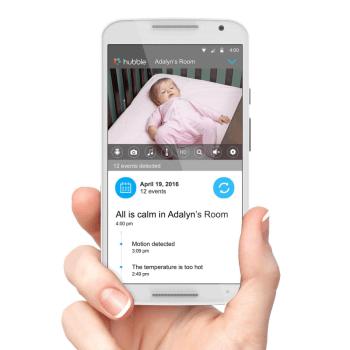 Motorola MBP855 Wi-Fi Connect Video Baby Monitor App