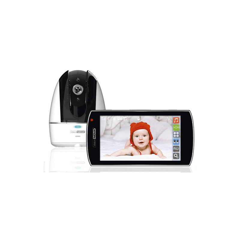 Compare retail prices of VisionNova 8 Video Baby Monitor with Wi-Fi Connect to get the best deal online