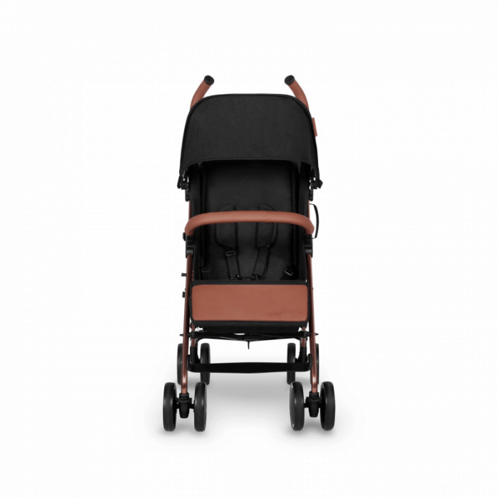 Ickle Bubba Discovery Stroller - Black / Rose Gold - Front