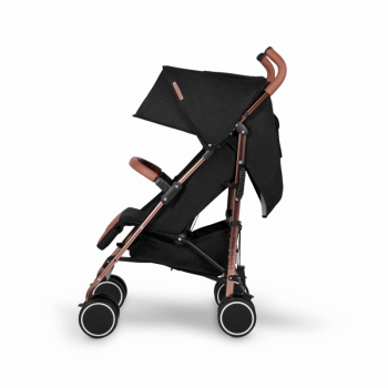 Ickle Bubba Discovery Stroller - Black / Rose Gold - Side