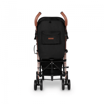 Ickle Bubba Discovery Stroller - Black / Rose Gold - Back