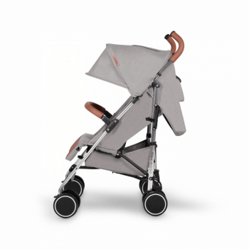 Ickle Bubba Discovery Stroller - Grey / Silver - Side