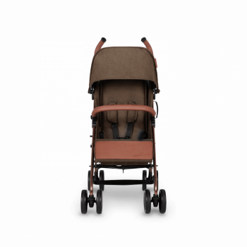 Ickle Bubba Discovery Stroller - Khaki / Rose Gold - Front