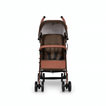 Ickle Bubba Discovery Stroller - Khaki / Rose Gold - Front Alt