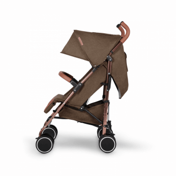 Ickle Bubba Discovery Stroller - Khaki / Rose Gold - Side