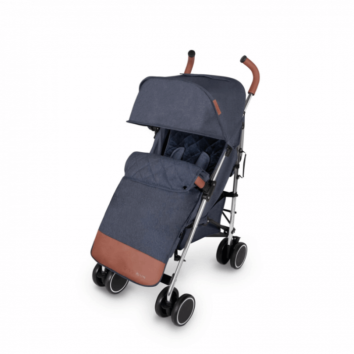 Ickle Bubba Discovery Prime Stroller - Denim Blue / Silver