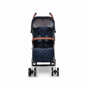 Ickle Bubba Discovery Max Stroller - Denim Blue / Silver - Front