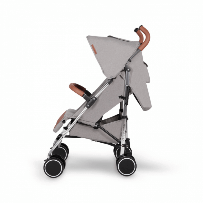 Ickle Bubba Discovery Max Stroller - Grey / Silver - Side