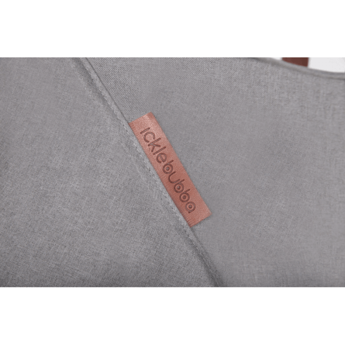 Ickle Bubba Discovery Max Stroller - Grey / Silver - Fabric