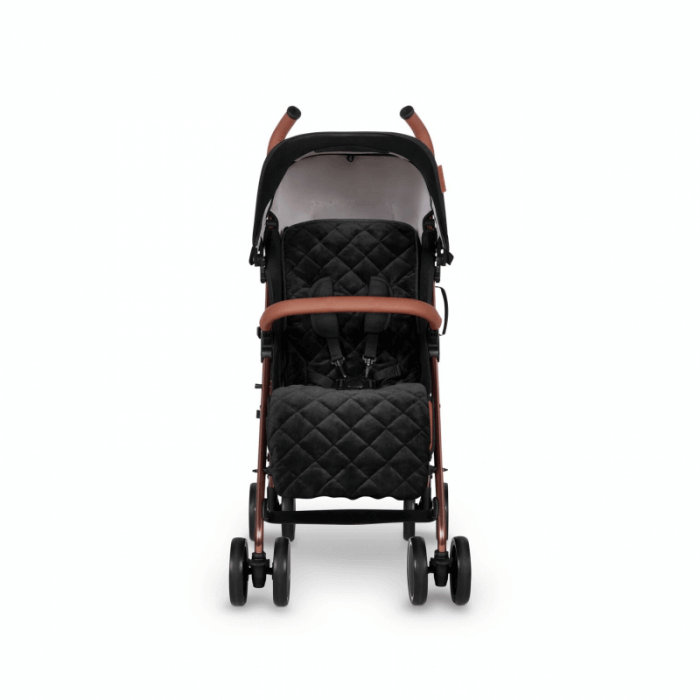 Ickle Bubba Discovery Prime Stroller - Black / Rose Gold - Front