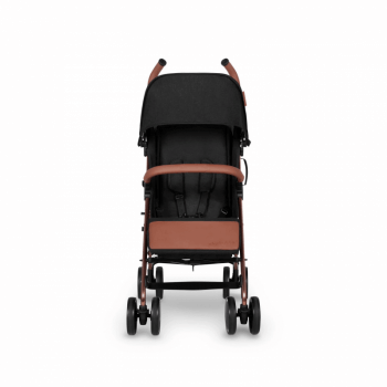 Ickle Bubba Discovery Prime Stroller - Black / Rose Gold - Front Alt