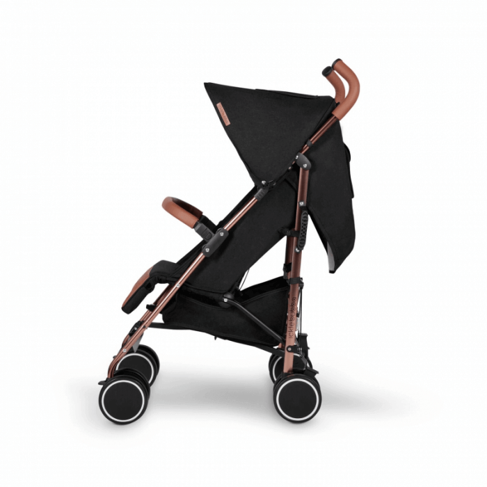 Ickle Bubba Discovery Prime Stroller - Black / Rose Gold - Side
