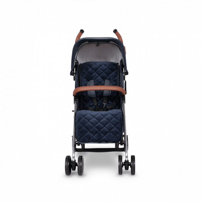 Ickle Bubba Discovery Prime Stroller - Denim Blue / Silver - Front