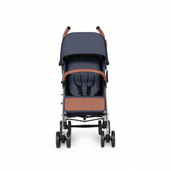 Ickle Bubba Discovery Prime Stroller - Denim Blue / Silver - Front Alt
