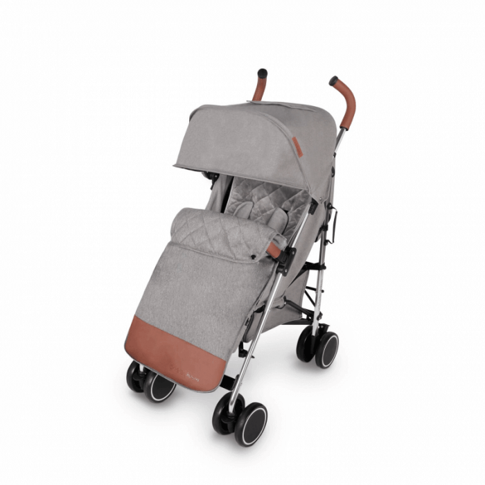 Ickle Bubba Discovery Prime Stroller - Grey / Silver