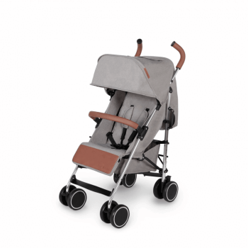 Ickle Bubba Discovery Prime Stroller - Grey / Silver - Left