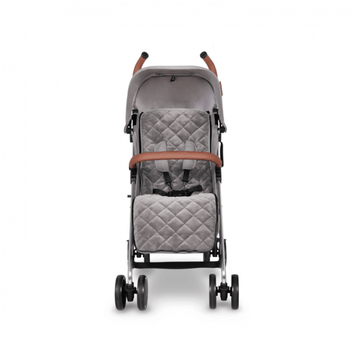 Ickle Bubba Discovery Prime Stroller - Grey / Silver - Front