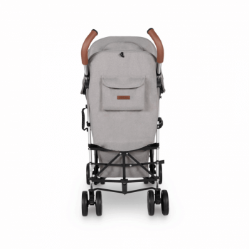 Ickle Bubba Discovery Prime Stroller - Grey / Silver - Back