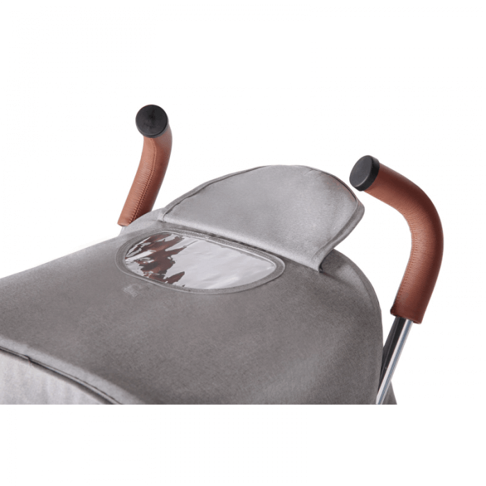 Ickle Bubba Discovery Prime Stroller - Grey / Silver - Handle
