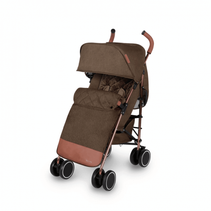 Ickle Bubba Discovery Prime Stroller - Khaki / Rose Gold