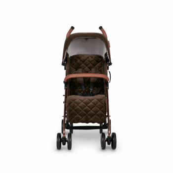 Ickle Bubba Discovery Prime Stroller - Khaki / Rose Gold - Front