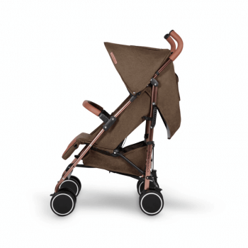 Ickle Bubba Discovery Prime Stroller - Khaki / Rose Gold - Side