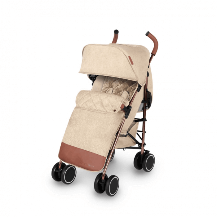 Ickle Bubba Discovery Prime Stroller - Sand / Rose Gold