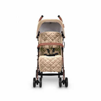 Ickle Bubba Discovery Prime Stroller - Sand / Rose Gold - Front