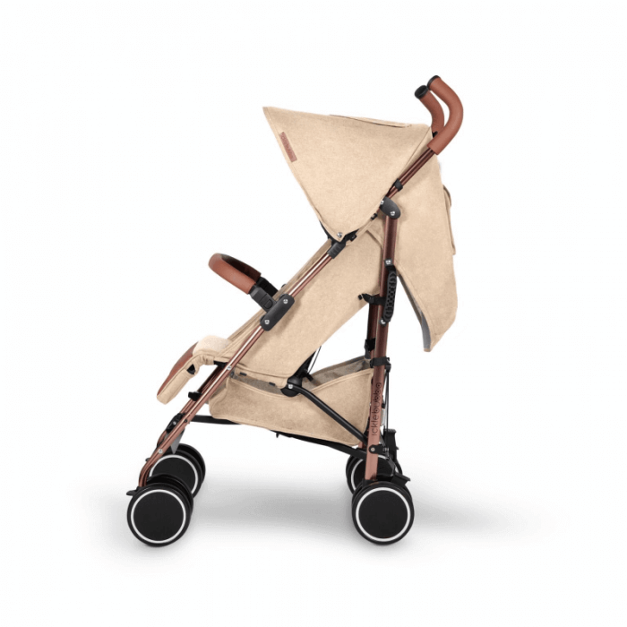 Ickle Bubba Discovery Prime Stroller - Sand / Rose Gold - Side
