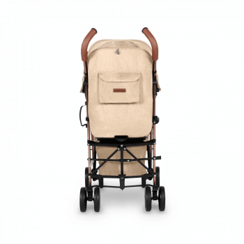 Ickle Bubba Discovery Prime Stroller - Sand / Rose Gold - Back