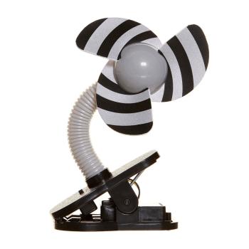 Dreambaby Portable Stroller Fan - Black & Grey