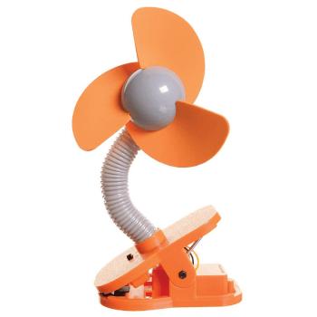 Dreambaby Portable Stroller Fan - Orange
