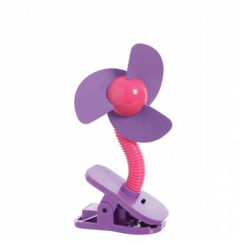 Dreambaby Portable Stroller Fan - Pink & Purple