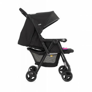 Joie Aire Twin Stroller - Pink & Blue - Side Ext