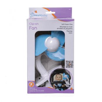 Dreambaby Portable Stroller Fan - Blue - Box