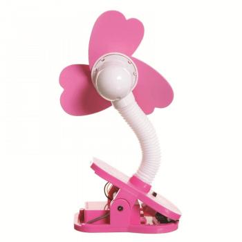 Dreambaby Portable Stroller Fan - Pink - Back