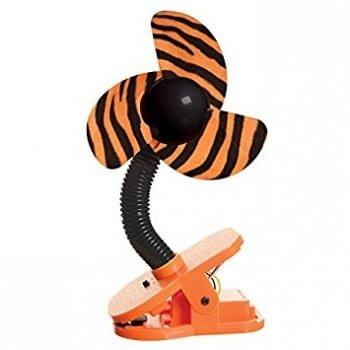 Dreambaby Portable Stroller Fan - Tiger