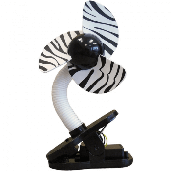 Dreambaby Portable Stroller Fan - Zebra