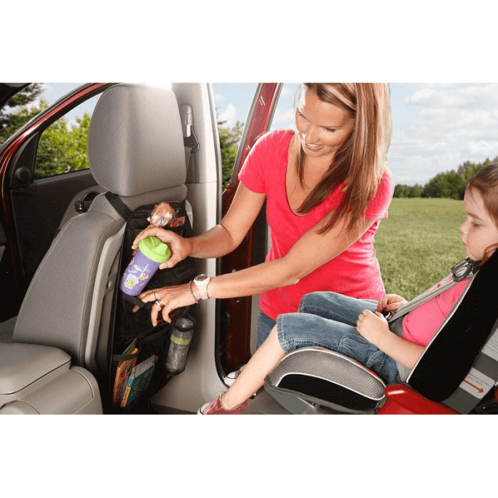 Diono Stow 'n Go Car Seat Organiser - Lifestyle