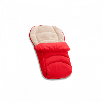 Hauck 2 Way Cosytoe Footmuff - Red