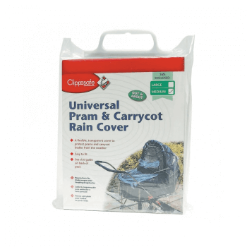 Clippasafe Universal Pram/Carrycot Raincover - Large