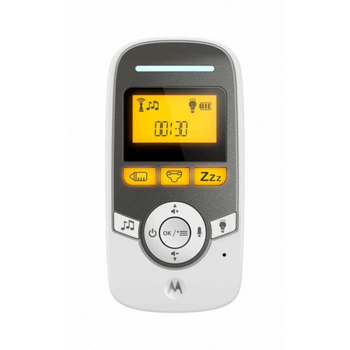Motorola MBP161 Audio Baby Monitor Parent Unit