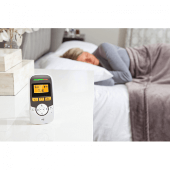 Motorola MBP161 Audio Baby Monitor Parent Lifestyle
