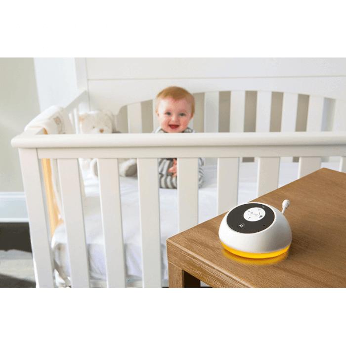 Motorola MBP161 Audio Baby Monitor Baby Lifestyle 2