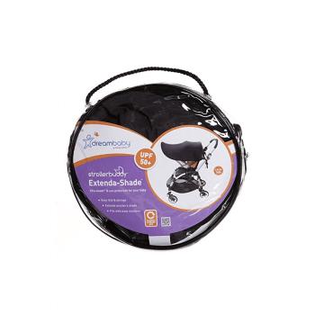 Dreambaby Strollerbuddy Extenda-Shade Medium - Black