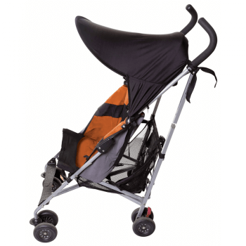 Dreambaby Strollerbuddy Extenda-Shade Medium - Black - Side
