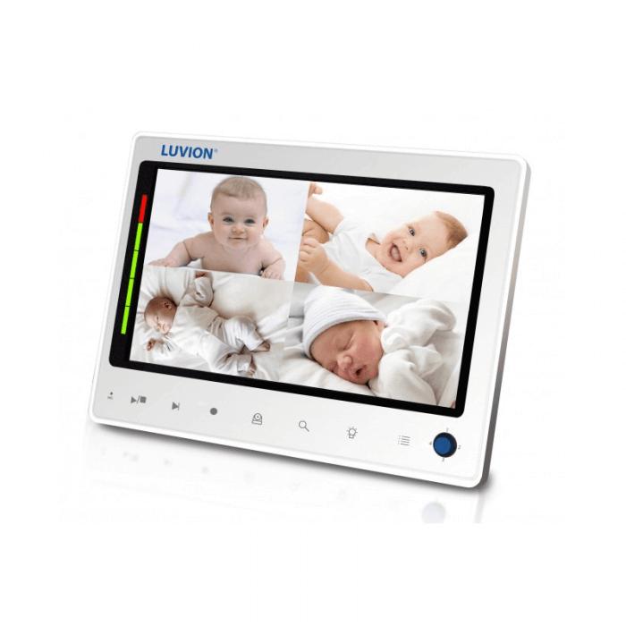 Luvion Prestige Touch 2 Twin Camera Video Baby Monitor Split Screen
