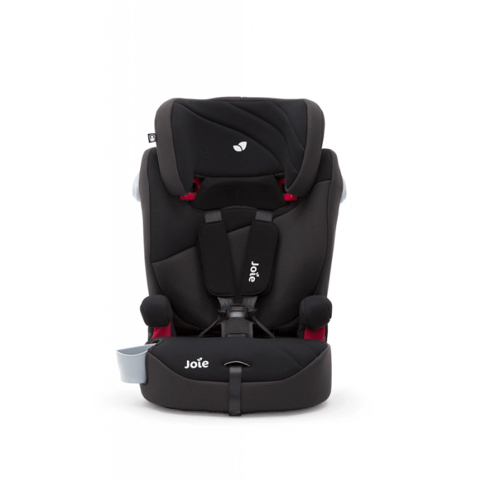Joie Elevate Group 1/2/3 Car Seat - Two Tone Black Front